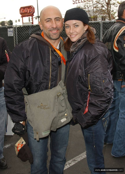 Carlo Rota and Annie Wersching at Love Ride 24