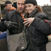 Annie Wersching and Carlo Rota at the 24th Annual Love Ride