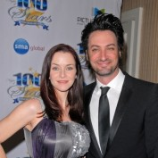 Annie Wersching and husband Stephen Full at Night of 100 Stars 2010