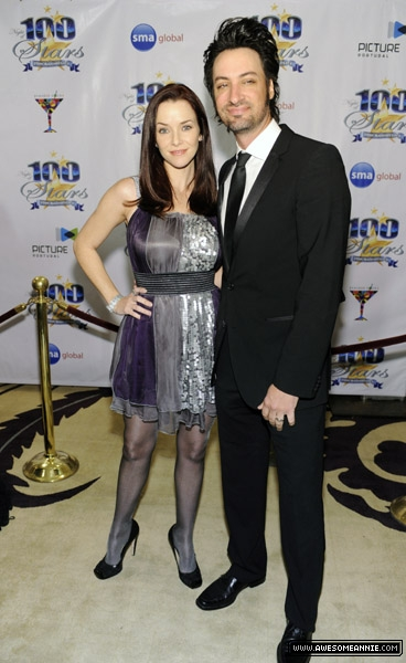 Annie Wersching and Stephen Full at 20th Annual Night of 100 Stars