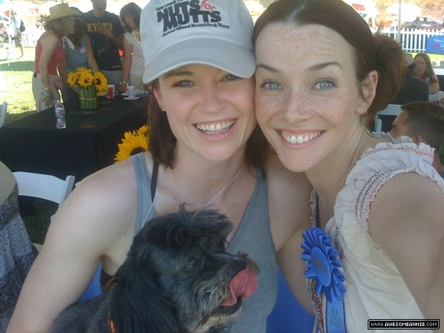 Annie Wersching and Sprague Grayden at 8th Annual Nuts for Mutts Dog Show