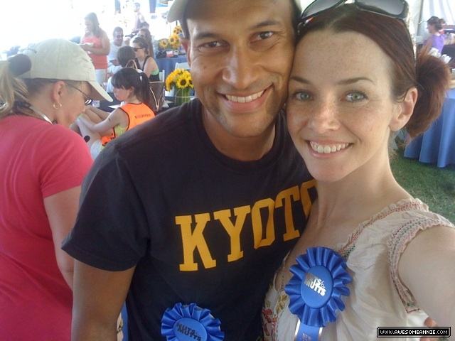 Annie Wersching and Keegan-Michael Key at 8th Annual Nuts for Mutts Dog Show