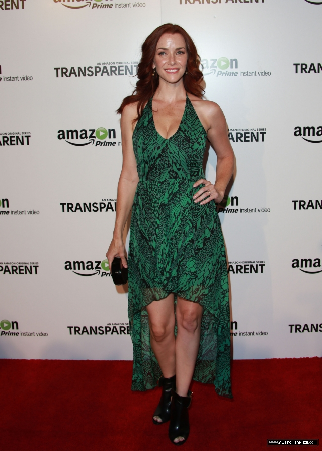 Annie Wersching at Premiere Of Amazon's 'Transparent' - 6