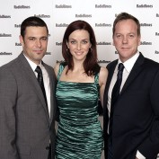 Annie Wersching, Carlos Bernard, and Kiefer Sutherland at Radio Times Covers Party 2009