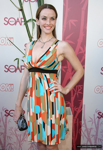 "Annie Wersching at SOAPnet's ""Night Before Party"" 13"