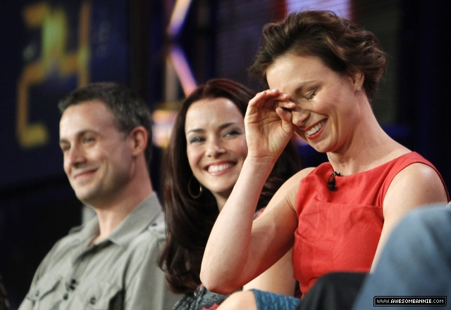Annie Wersching on the 24 panel at TCA Press Tour 2010 - 12