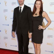 Annie Wersching and Stephen Full at Television Academy Performers Nominee Reception for The 66th Emmy Awards - 2