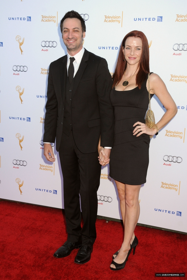 Annie Wersching and Stephen Full at Television Academy Performers Nominee Reception for The 66th Emmy Awards - 3
