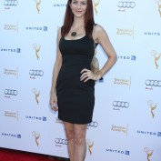 Annie Wersching at Television Academy Performers Nominee Reception for The 66th Emmy Awards - 1