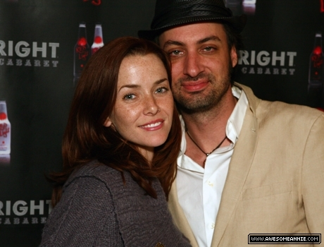 Annie Wersching and Stephen Full at Upright Cabaret Hollywood Blowout 2008