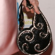 Annie Wersching's purse at WIN Awards 2009