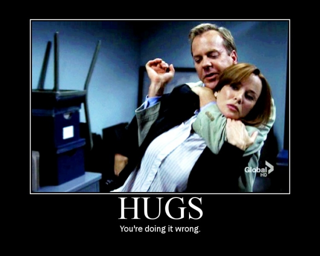 Hugs - You're Doing It Wrong