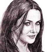 Annie Wersching portrait by saintaker
