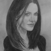 Annie Wersching portrait by Eliavanti