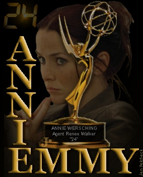 Emmy for Annie poster by Jen Pelcheck