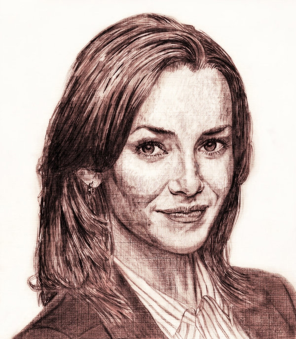 Renee Walker portrait by saintaker