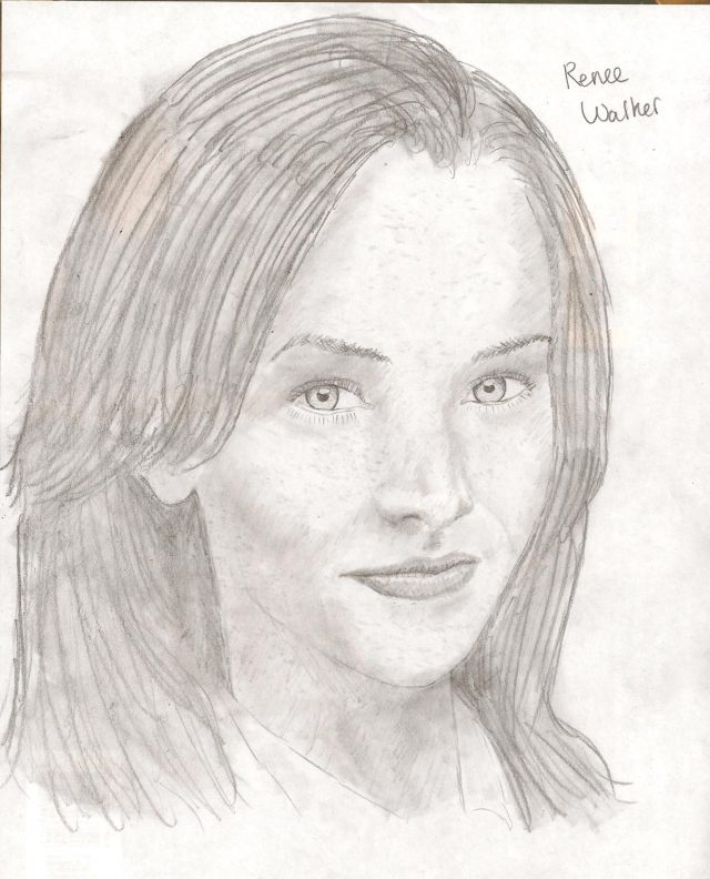 Renee Walker drawing by wolverineluver45