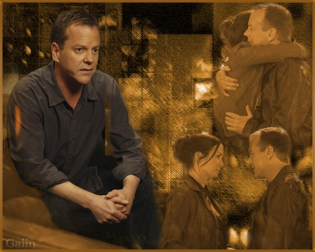 Jack Bauer and Renee Walker wallpaper by Galin