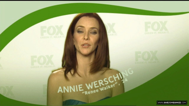 FOX Green It, Mean It Campaign with Annie Wersching