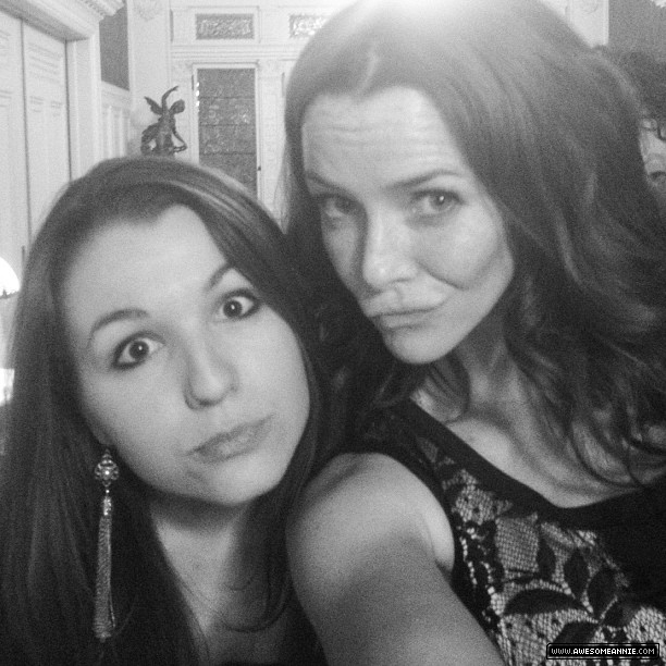Annie Wersching and fan Alli Draper