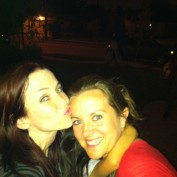 Annie Wersching and Marci Michelle night out