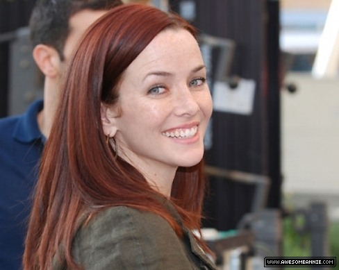 Annie Wersching at Nokia Theater