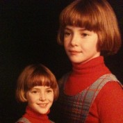 Young Annie Wersching - bowl haircut