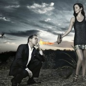 Annie Wersching Kiefer Sutherland hot photoshoot