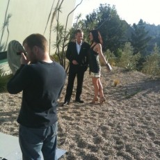 Behind the Scenes of TV Guide Photo Shoot