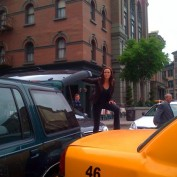 Annie Wersching 24 Season 7 Cars Behind the Scenes