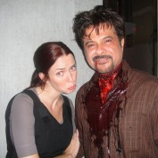 Annie Wersching and Anil Kapoor 24 Day 8