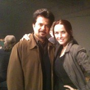 Annie Wersching and Anil Kapoor 24 Season 8