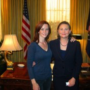 Annie Wersching and Cherry Jones behind the scenes 24 Season 7
