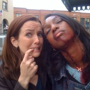 Annie Wersching and Enuka Okuma Behind the Scenes on 24