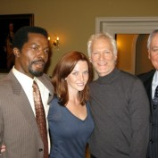 Annie Wersching with James Morrison, Bob Gunton, Isaach De Bankole on 24