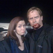 Annie Wersching and Jeffrey Nordling 24 Season 7