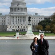 Annie Wersching and Jeffrey Nordling at Capitol 24 Season 7