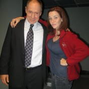 Annie Wersching with Will Patton