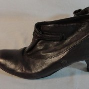Renee Walker's boots - side view