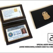 Renee Walker FBI badge prop