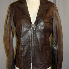 Renee Walker leather Gap jacket 24 Season 7