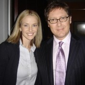 Annie Wersching with James Spader