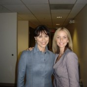 Annie Wersching with Michelle Forbes
