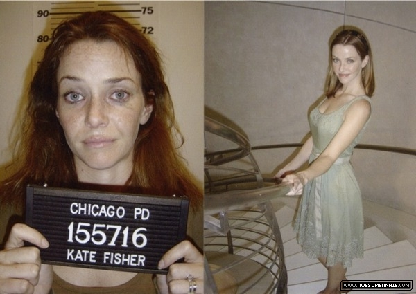 Annie Wersching in Company Man - Kate Fisher's mugshot