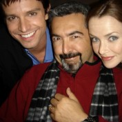 Annie Wersching with Jon Cassar and Jason Behr
