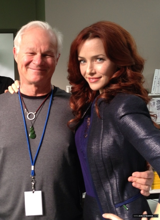Annie Wersching and Rodney Charters