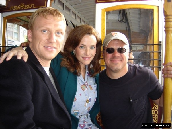 Annie Wersching and Kevin McKidd on Journeyman