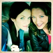 Annie Wersching and Scottie Thompson