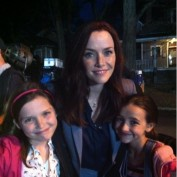 Annie Wersching with Cameron Protzman and Ashley Boettcher on Partners