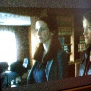 Annie Wersching and Scottie Thompson off-screen shot